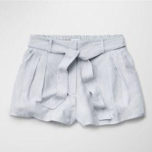Aritzia | Pleated Tie Waist Shorts